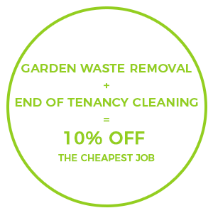 End of Tenancy and Garden Clearance Offer